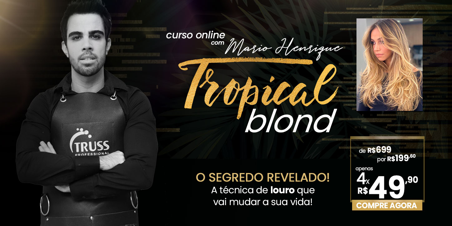 Banner - Curso Tropical Blond